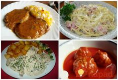 Slovak Recipes, Pesto, Spaghetti, Food And Drink, Ethnic Recipes, Red Peppers, Noodle