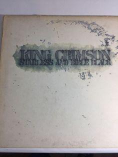 King Crimson - Starless & Bible Black LP Prog Rock Atlantic Orig 1974 Gatefold #ProgressiveArtRock