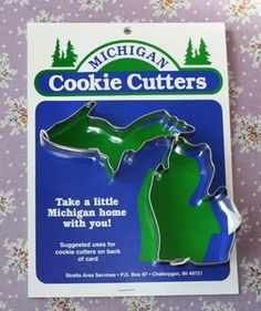 Better to have Michigan than to have Colorado, Wyoming  and all the other boring shaped states.
