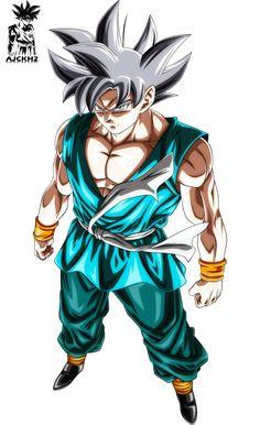 Son Goku Mastered Ultra Instinct by ajckh2