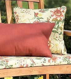 Outdoor furniture cushions and pillows add style. Shop our large selection of UV resistant, weather proof cushions including outdoor chair cushions. Porch Swing Cushions, Dining Room Chair Cushions, Outdoor Chair Cushions, Bench Cushions, Indoor Outdoor Rugs, Bed Pillows, Outdoor Living, Solid Brick, Replacement Cushions