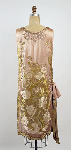 Dress (image 2 - back) | Attributed to Callot Soeurs | French | 1926 | silk | Metropolitan Museum of Art | Accession Number: C.I.66.58.4