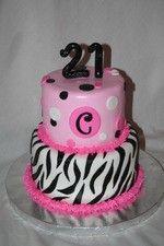 zebra print and pink cake pink-pinwheel-party
