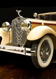 """cyntemesy55: """"Vintage Hispano Suiza 12 It would be fun to ride in this.....just once !!!! """""""