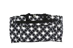 Black And White Bags, Quatrefoil Pattern, Adidas Hoodie, Duffel Bag, Ticket, Diaper Bag, The North Face, Cheer, Coupon