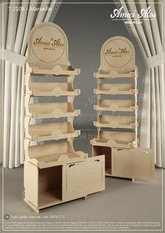Pin by sonett coetser on business : store & craft displays c Shop Shelving, Bar Shelves, Shelving Design, Display Design, Booth Design, Display Shelves, Store Design, Stall Display, Wood Display Stand