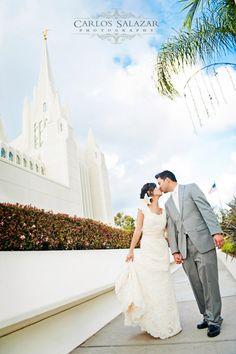 Wedding Photography // San Diego Temple, CA