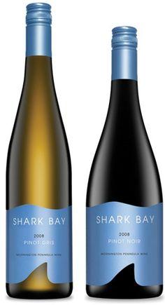 wine label  designed by Watts Design