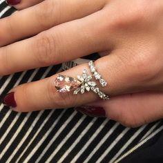 Bom dia!  #morganita #brilhantes #ring #pink #jewelry