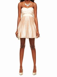 Striped Party Dress, $19.99 - Holiday Dresses - Seventeen