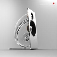 Snail Desktop Speaker (2013) by Alexander Shevchenko