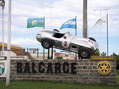 Auto de Juan M. Fangio, en Balcarce, Prov.Buenos Aires, Argentina