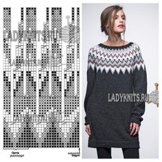 gitka holubova's media content and analytics Fair Isle Knitting Patterns, Sweater Knitting Patterns, Knitting Charts, Lace Knitting, Knitting Stitches, Knit Patterns, Tejido Fair Isle, Punto Fair Isle, Motif Fair Isle