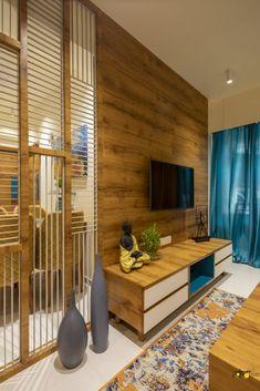 Living Room Partition Design, Living Room Tv Unit Designs, Room Partition Designs, Bedroom False Ceiling Design, Tv Unit Interior Design, Interior Design Presentation, Modern Home Interior Design, Home Room Design, Indian Bedroom Design