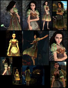 Call me crazy, but I NEED to make Alice's Siren dress from the game Alice: Madness Returns. OMG scales and LEDs!