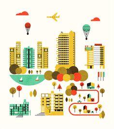 Cityscape - Parko Polo by edward_mcgowan, via Flickr