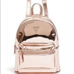 Felicity Mini Backpack at Guess Cute Mini Backpacks, Stylish Backpacks, Girl Backpacks, Fashion Bags, Fashion Backpack, 80s Fashion, Korean Fashion, Vintage Fashion, Fashion Outfits