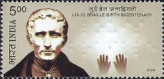 2009 India Birth Bicentenary of Louis Braille