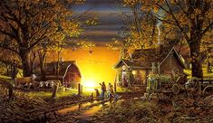 Details About Terry Redlin May Seasons To Remember Spring