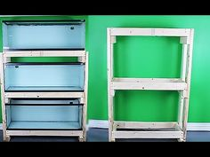 HOW TO: build an aquarium rack - cheap and easy - YouTube