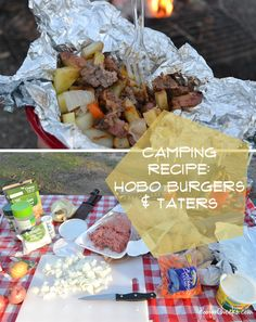 Camping #Recipes: Hobo Burgers and Taters #camping @Kelsey Myers of Poofy Cheeks #cbias
