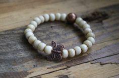 Kids bracelet/ butterfly bracelet/ kids by brokengypsybracelets