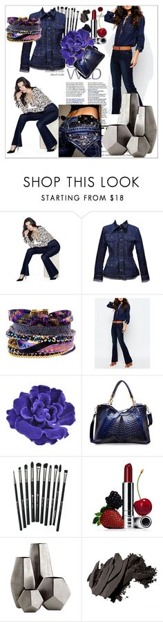 """""""Jeans"""" by amra-2-2 ❤ liked on Polyvore featuring GUESS, Gianfranco Ferré, Hipanema, Noisy May, Chanel, Revolution, Clinique, Cyan Design and Bobbi Brown Cosmetics"""