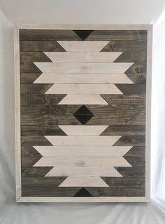 Geometric wood wall art barn wood art barn quilt reclaimed etsy barn wood a Reclaimed Wood Wall Art, Rustic Wood Walls, Wood Wall Decor, Wooden Wall Art, Weathered Wood, Barn Wood, Reclaimed Lumber, Salvaged Wood, Wooden Decor