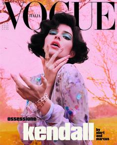 Kendall Jenner by Mert and Marcus for Vogue Italia February 2019 Vogue Vintage, Capas Vintage Da Vogue, Vintage Vogue Covers, Vogue Editorial, Editorial Design, Édito Vogue, Vogue Fashion, Vogue Models, Runway Fashion