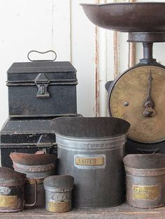 Awesome vintage metal pieces