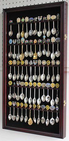 60 Spoon Rack Display Case Holder Cabinet, Real Glass Door, DARK CHERRY Finish by DisplayGifts, http://www.amazon.com/dp/B002WPTT44/ref=cm_sw_r_pi_dp_wyi5rb0W41CX9