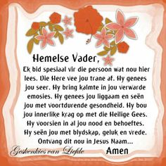 Goeie More, Afrikaans Quotes, Prayers, Bible, Bring It On, Motivation, Spirit, Inspirational, Gallery
