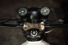 When David Morales and Fabian Campos, the duo behind the Texas-based 'Denton Moto Collective' set out to sta. Cb350 Cafe Racer, Cafe Racers, Honda Cb750, Riding Gear, Interview, Collection, Motorcycle Workshop, Denton Texas, Classic