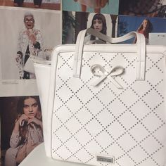 NEW Kenneth Cole Beau Tote in Milk Supremely summery. Incomparably chic. Amazingly versatile. This Beau Tote can go shopping, to work or to a garden party. It's got ample space for everything you might need on any of those occasions. NWT. Kenneth Cole Reaction Bags Totes