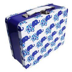 BLAFRE - Koffertboks Blå elefant
