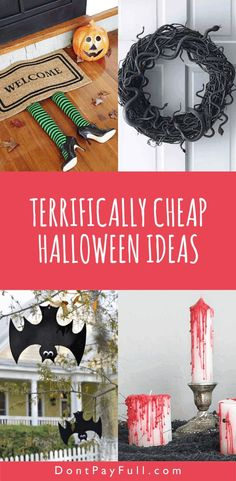 Terrifically Cheap Halloween Ideas That Will Horrify Your Neighbours #DontPayFull