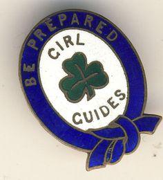 GIRL GUIDE BADGE SCARCE BLUE FIRST CLASS PIN | eBay