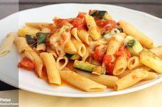Receta de pasta con parmesana de calabacines