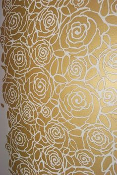 Proper Hunt: DIY Wall Stencil: The Nursery Closet