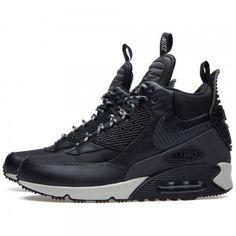 Ordre Chaussures Nike Air Max 90 Sneakerboot Homme/Femme Blanc Noir Prix  Code de Style