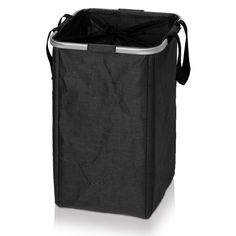 Discover the Moeve Textile Laundry Hamper - Black at Amara