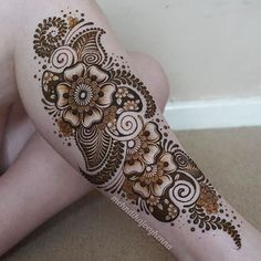 I haven't had a huge leg henna on myself for the longest tim.- I haven't had a huge leg henna on myself for the longest time! I bloody love… I haven't had a huge leg henna on myself for the longest time! I bloody love… - Tatoo Henna, Henna Tattoo Designs, Henna Mehndi, Henna Art, Mehndi Designs, Mehendi, Hena Designs, Mehndi Art, Tattoo Girls