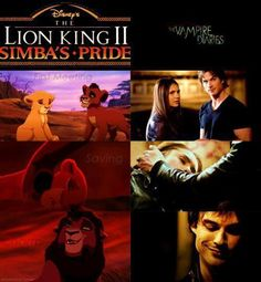 I love Kovu & Kiara!! :D and I am absolutely obsessed with Delena :D