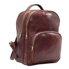 Rucsac din piele naturala vachetta, portlaptop, 8805A Rucsacuri rucsac de barbati din piele Fashion Backpack, Backpacks, Backpack