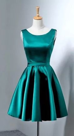 short prom dresses gowns,bow back cocktail dress Party Dresses