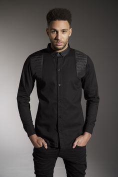 The 'BERDA' Shirt - £45.00 - http://www.voijeans.com/blackout/berra-shirt-black.html