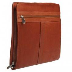 Hunt Organizer Zip Compendium - Leather Compendiums - Business | Hunt Leather
