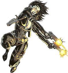 Domino....mutant power Luck