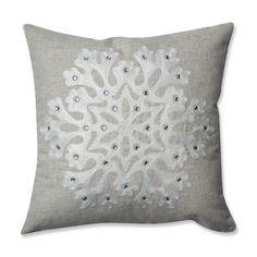 Found it at Wayfair - Snowflake Throw Pillow