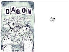 """H. P. Lovecraft """"DAGON"""" - Die Kurzgeschichte DAGON ist ein Testament, dass von einem Morphium abhängigen Mann geschrieben wurde. Darin erzählt er von einem mysteriösen Erlebnis, welches ihn drogenabhängig und zum Selbstmord getrieben hat. - (Digitale Illustration und Aquarell) Illustrator, Book Illustration, Short Stories, Watercolor, Pen And Wash, Watercolor Painting, Watercolour, Illustrators, Watercolors"""